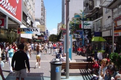 Peatonal en Mar del Plata