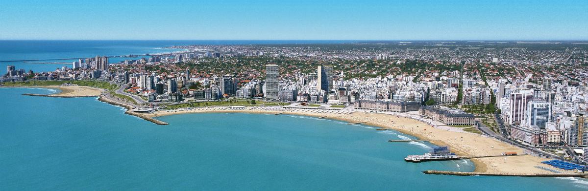 Playa Mar del Plata - Turismo Argentina