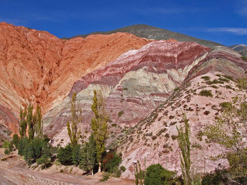 El Cerro de los Siete Colores, gran belleza natural