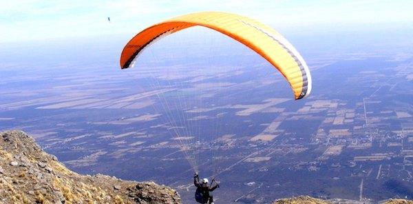 parapente en Merlo San Luis Argentina
