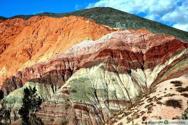 Paisajes de Argentina, Cerro de los Siete Colores