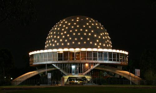 El Planetario, Lugares para visitar en Buenos Aires