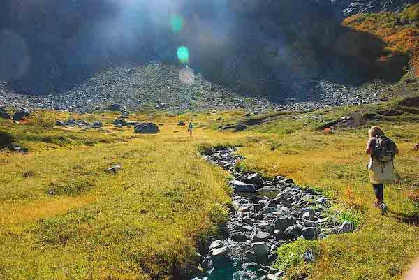 El cajón Negro es un valle prácticamente perfecto, Que hacer en villa la angostura