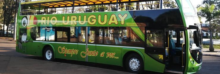 Recorrido en el Bus Turístico