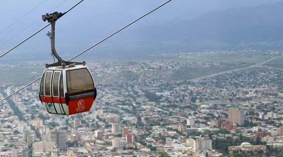 Teleférico San Bernardo de Salta