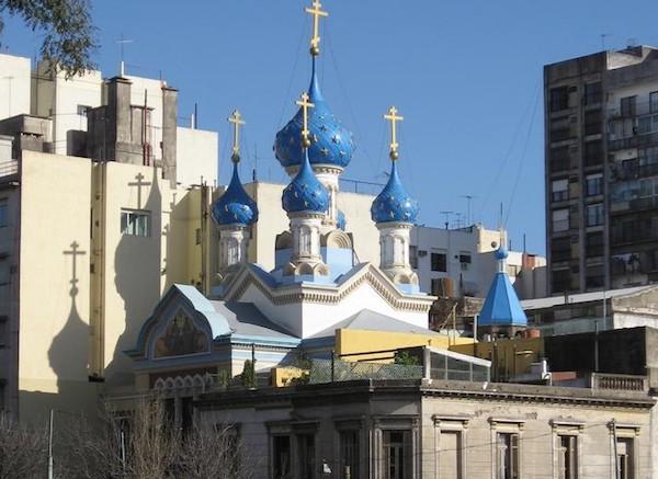Iglesia ortodoxa Rusa de la Santísima Trinidad