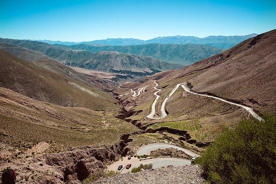 La Cuesta de Lipan, cerro de los 7 colores