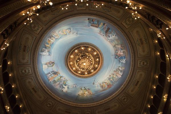 La cúpula del teatro colon