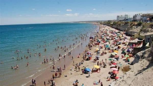 Playa Balneario de las Grutas